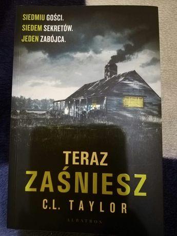 Nowa ksiazka TERAZ ZASNIESZ Taylor horror thriller stan idealny