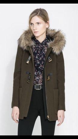 Дафлкот пальто zara