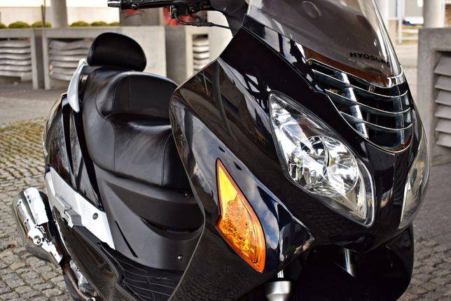 NOWY Hyosung ms3 125 ORYGINALNE 6612km! jak Honda Bezwypadkowy z 2010r