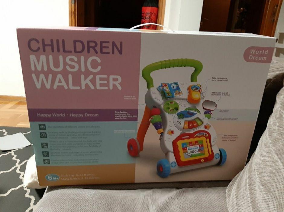 Pchacz Children Music Walker nowy Marki - image 1