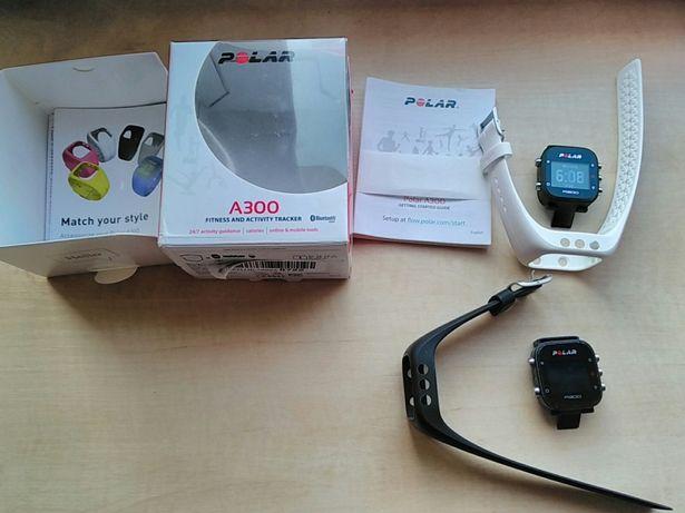 Zegarek biegowy Polar A300 do biegania czarny pasek stan bdb puls*