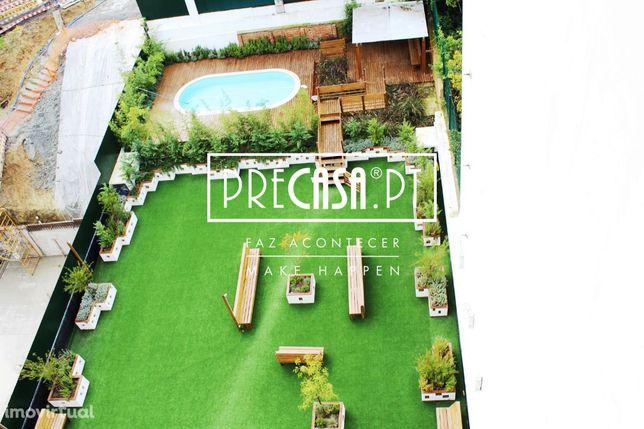 * Penthouse T3 (T3+1)   1 PisoÚnico   300m2 de Luxo   Jardim   Piscina