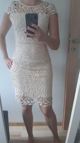 Koronkowa sukienka, szydełkowa, sukienka na wesele, do klubu