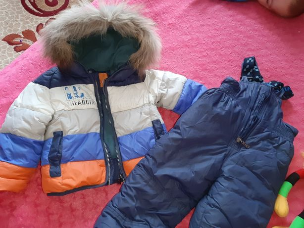 Комбинезон, куртка зима