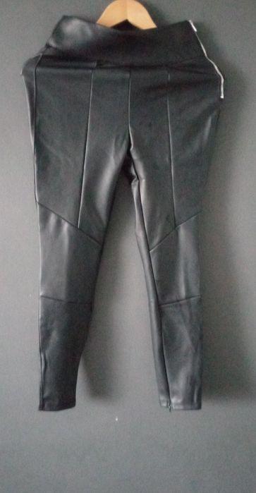 Spodnie skórzane bershka tanio Wrocław - image 1