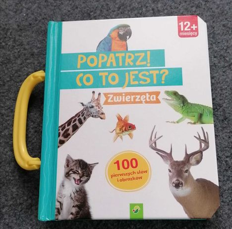 Książeczka edukacyjna dla dzieci ze zwierzętami