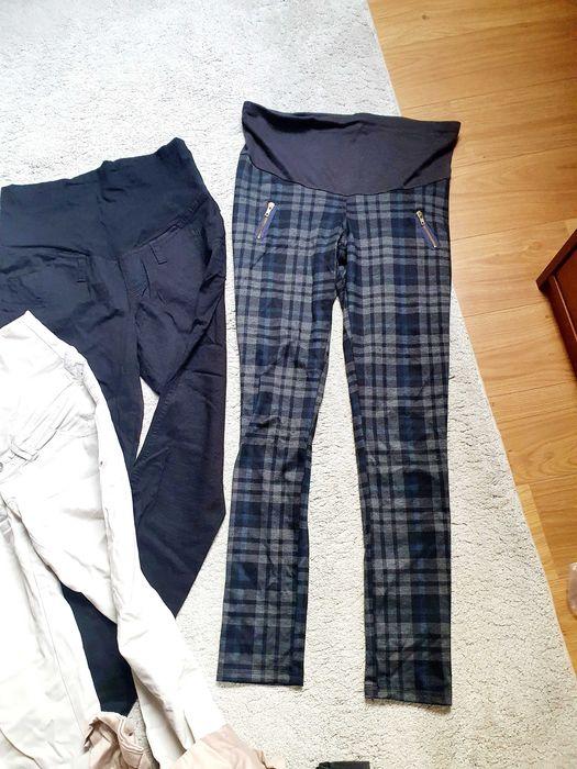 Spodnie ciążowe 5 par r. 38 M stan idealny Lubin - image 1
