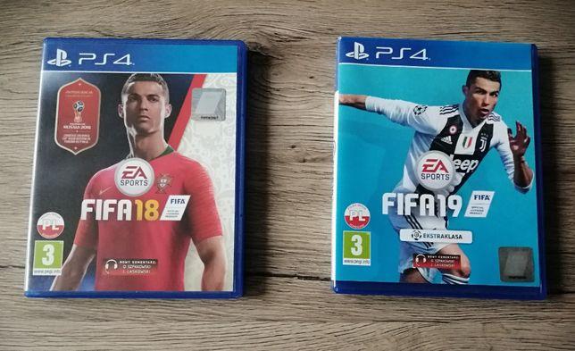 FIFA 18+19 Zestaw na PS4