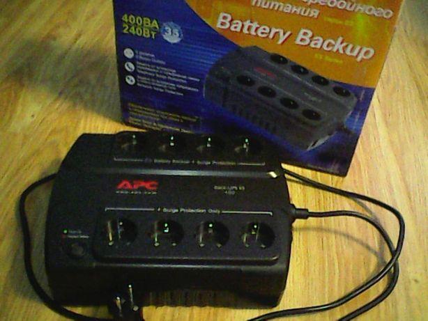 Бесперебойник (ИБП) APC Back-UPS ES 400VA (BE400-RS)