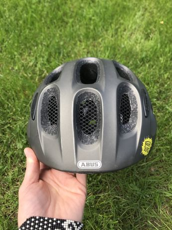 Kask rowerowy dla dziecka ABUS YOUN-I metallic grey 48-54