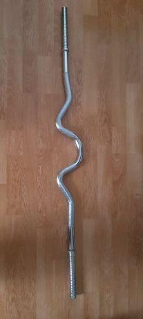 Sztanga łamana 120cm