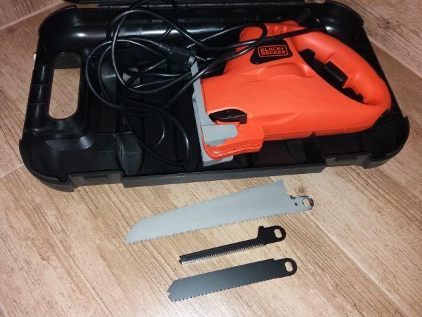 Piła szablasta wyrzynarka Black Decker + 3brzeszczoty walizka jak nowy