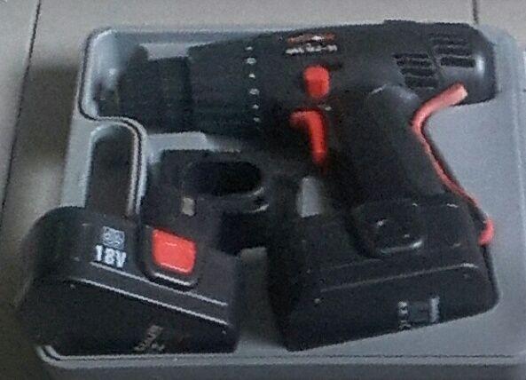 немецкий шуруповерт с новым аккумулятором