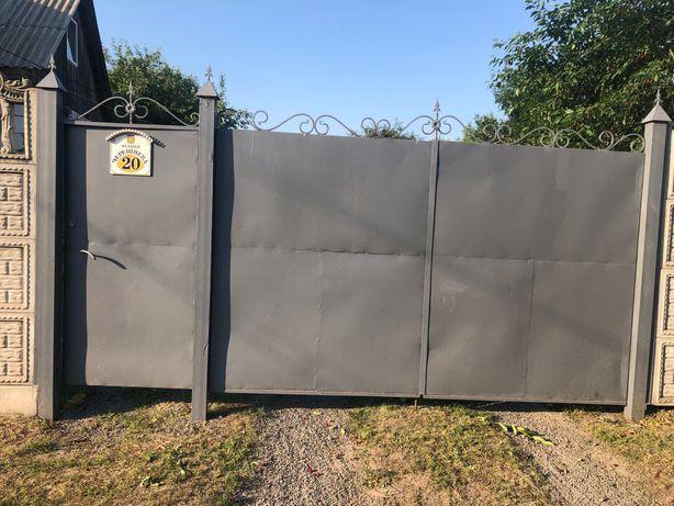 Ворота и калитка б/у