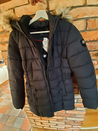 Piękna kurtka, płaszczyk, płaszcz zimowy, pikowany, nowy ONLY, M.