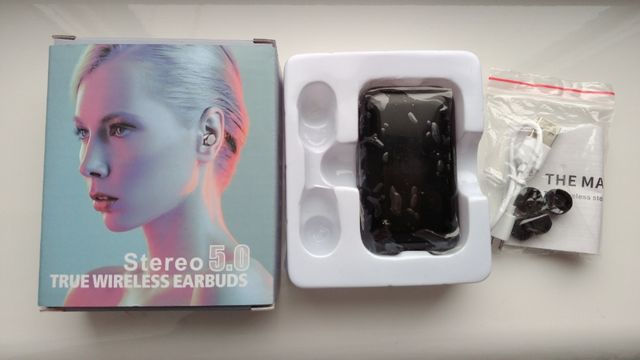 Bluetooth-Наушники Stereo 5.0 True Wireless Earbuds