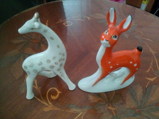 Фарфоровые статуэтки -животные