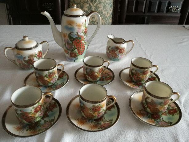 Serviço de Café de Porcelana Chinesa