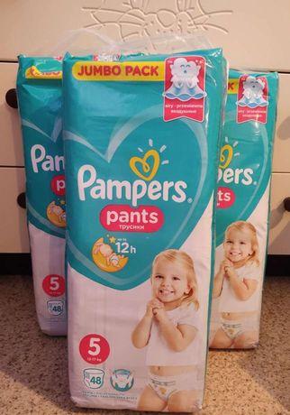 48 шт в пачке Pampers Pants 5