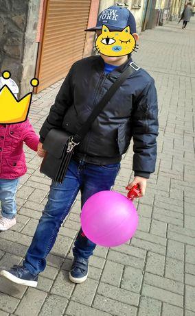 Куртка, курточка, бомбер, бомберка для мальчика 128 - 140
