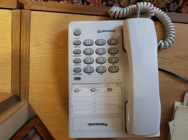 Telefon stacjonarny Panasonic 3 pamięci bez wybierania numeru