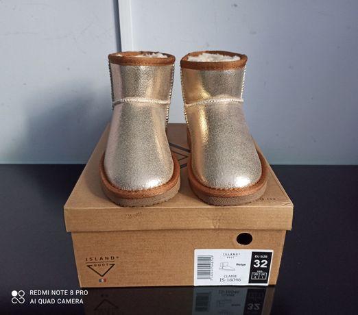 Botki zimowe Island Boot 32 nowe wodoodporne
