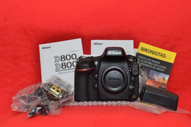 NIKON D800 + SB-910 Ambos como novos (muito pouco uso)