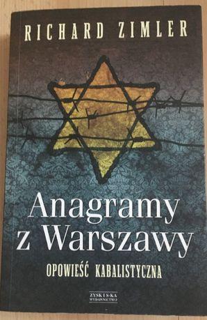 Zimler - Anagramy z Warszawy --- Opowieść kabalistyczna