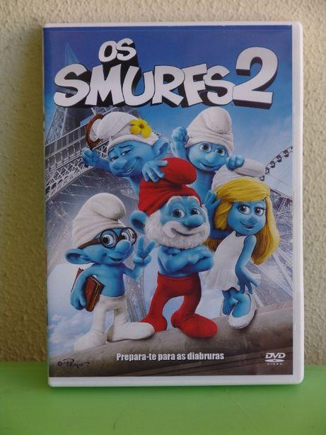 DVD - Os Smurfs 2