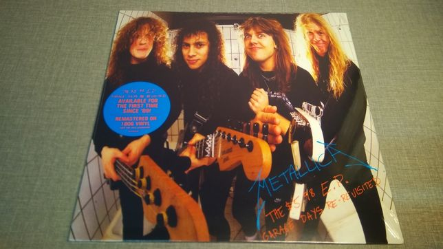 Metallica : The $5.98 E. P. - Garage Days Re-Revisted LP /Винил/VL