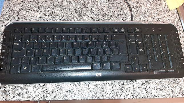 Teclado computador fixo