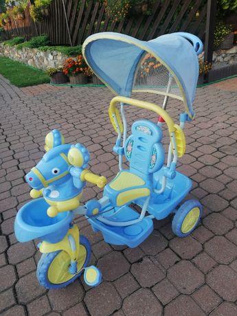 Trójkołowy rowerek jeździk