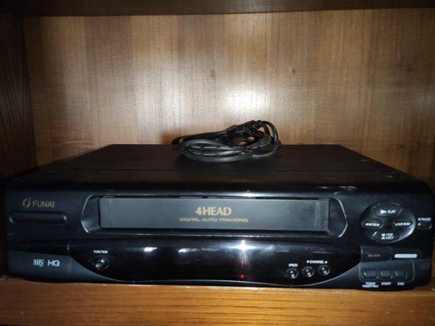Leitor de Cassetes VHS Para Peças ou Reparo