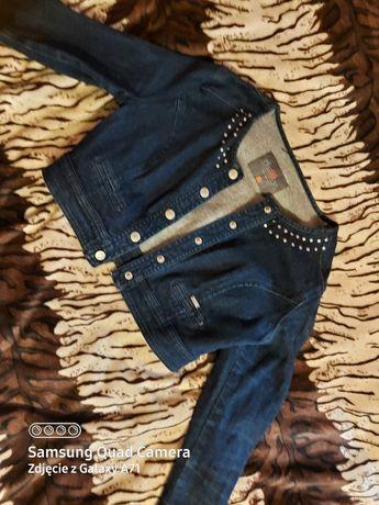 Bolerko jeansowe kurteczka chillin