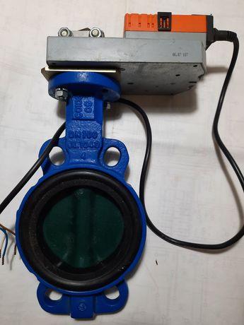 Батерфляй з електроприводом Ду 100