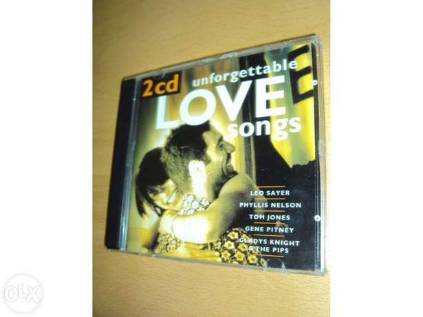 """Unforgetable Love Songs"" - 2 cds - novo!"