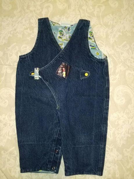 Продам детский джинсовый ромпер комбинезон