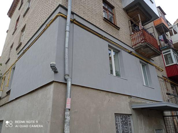 Утепление фасадов любой сложности