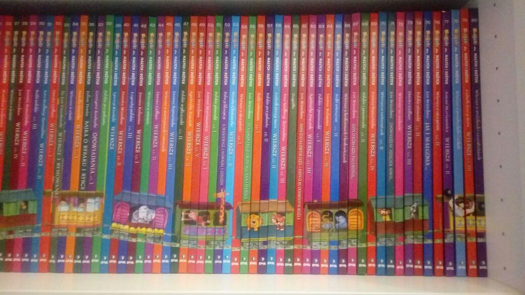 Książki dla dzieco 80 szt. Deagostini