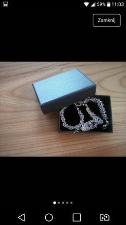 Biżuteria kryształki Swarovskiego