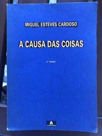 Livro Miguel Esteves Cardoso A Causa das Coisas