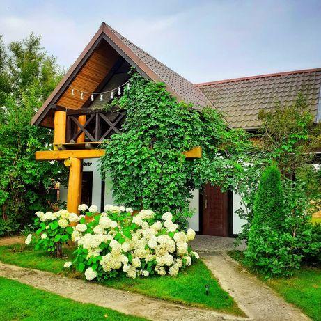Zielona Ostoja w sercu Kaszub (domek 6-osobowy)