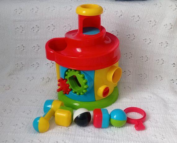 Сортер, сортер elc, спуск, развивающая игрушка, стучалка, elc