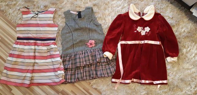 Sukienka dla dziewczynki rozmiar 110