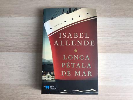 Livro Longa Pétala de Mar - isabel Allende