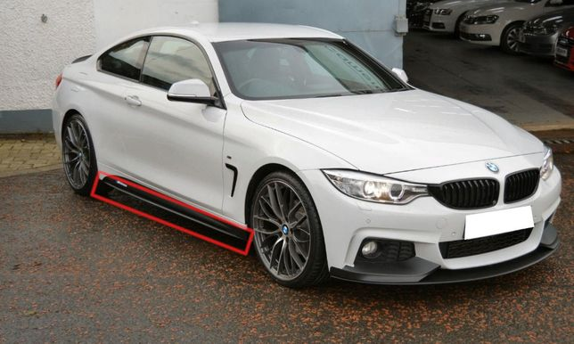 BMW 4 SERIES F32 F33 F36 M4 Dokładki progowe Performace Style