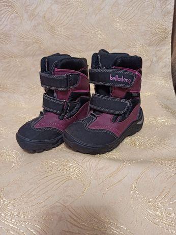 Зимові ботинки для дівчинки 26р. 16см