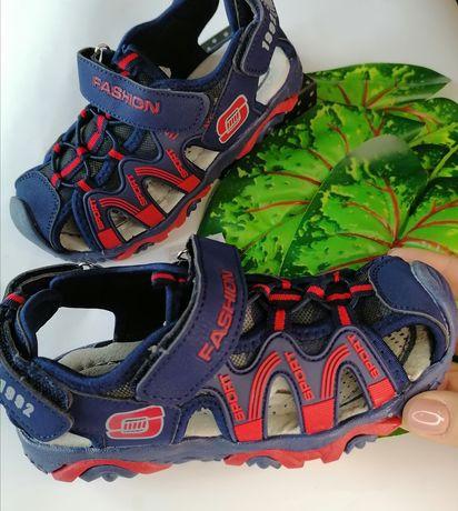 Акция Босоножки на мальчика, подростковая обувь, летние сандалии