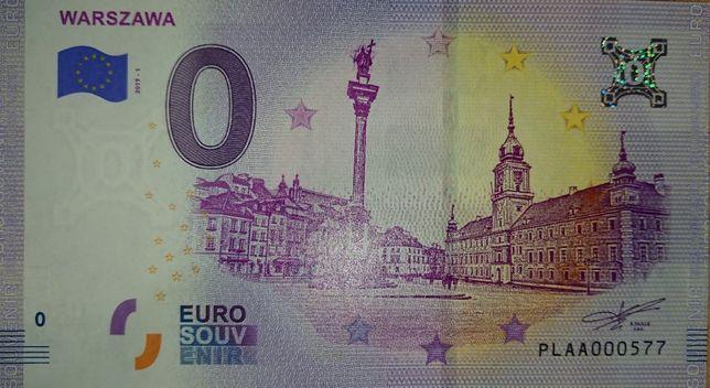 0 Euro Warszawa - NISKI NUMER 577