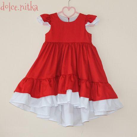 Нарядное платье на 110-116 4-6лет